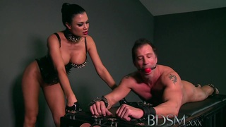 BDSM XXX Slave boy gets hardcore treatment by Dom