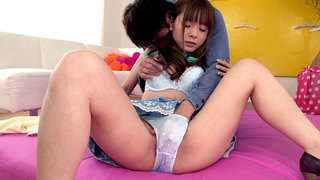 Exotic Japanese Girl Fucks And Squirts