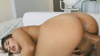 Arias stretched pussy got covered in cum