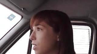 Teen girl Tina Hot gives head and nailed in ambulance