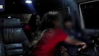 Car Fucking Shaved Brunette Sluts Doggy Style
