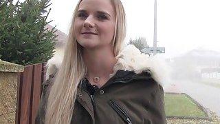 Graduated student bangs in car in public