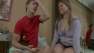 Barely legal busty cutie Gracie gets laid with Matthew Sex